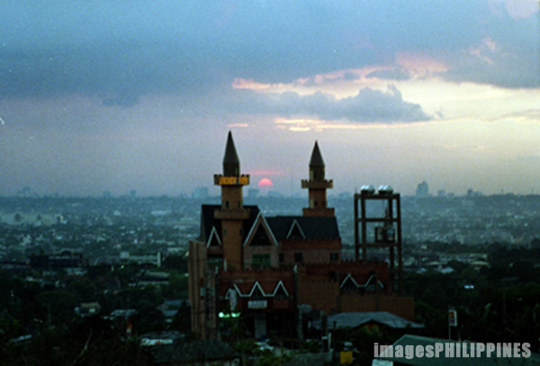 """Sunset in Antipolo, (Skyview in Foreground)