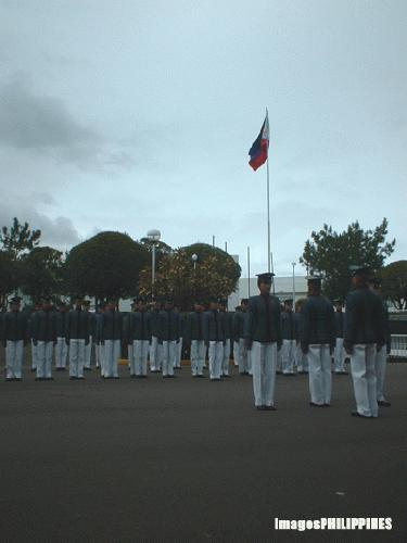 """Cadet Formation"",  Place Taken: Baguio City take on  Date Taken: December 2003"