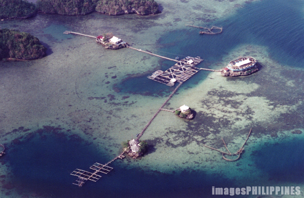 """Aerial View of Igang Marine Station""