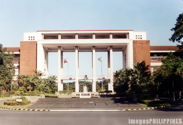 """Quezon Hall""