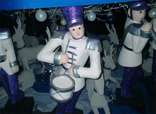 """""""Christmas Toy Soldiers"""",  Place Taken: Metro Manila take on  Date Taken: 2002"""