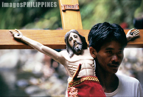 Man Carrying a Cross