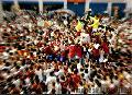 """Quiapo Fiesta/Procession"", Photographer/Artist: Nestor Santiago, Date Taken: 1999, Place Taken: Metro Manila"