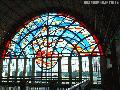 """Stained Glass Windows in UP Bahay ng Alumni"", Photographer/Artist: Christiane L. De La Paz, Date Taken: 2003, Place Taken: Metro Manila"