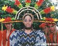 """Coconut Festival Beauty"", Photographer/Artist: Nestor Santiago, Date Taken: 2001, Place Taken: San Pablo, Laguna"