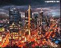 """Makati by Night"", Photographer/Artist: Samuel Peralta De Leon , Date Taken: 2003, Place Taken: Metro Manila"