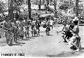 """Bontoc Warriors"" , Photographer/Artist: Art Tibaldo , Date Taken:  1984, Place Taken: Baguio City,"