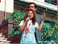 """Sarah Jane Salazar Speaking on HIV-AIDS"" ,