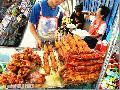 """Banana Cue Vendor"", Photographer/Artist: Nestor Santiago, Date Taken: 2004, Place Taken: Lipa City,Batangas"