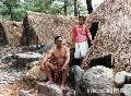 """Kalinga Couple Posing for Travel Photographers"" , Photographer/Artist: Art Pang-ot Tibaldo , Date Taken: 1996, Place Taken: Balbalan, Kalinga"