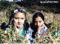 """Tam and Inah at the Mt. Pulag Grasslands"" ,