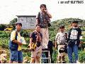 """Japanese Correspondent Calling Tokyo"" , Photographer/Artist: Art Tibaldo , Date Taken:  1999, Place Taken: Buguias, Benguet,"