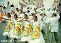 """Sinulog Dancers"", Photographer/Artist: Nestor Santiago , Date Taken: 2003, Place Taken: Cebu"