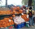 """Fruit Stand in Session Road"", Photographer/Artist: Christiane L. De La Paz, Date Taken: December 2003, Place Taken: Baguio City"